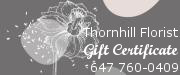 Thornhill Florist Gift Certificate